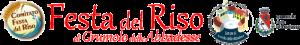 Logo Festa del Riso di Grumolo delle Abbadesse